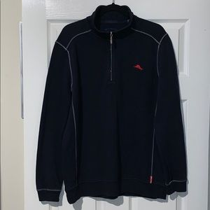 Tommy Bahama Relax Long Sleeve 1/4 Zip Sweater